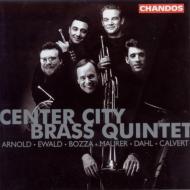 アーノルド、エヴァルド、ボザ他:金管五重奏曲集/センター・シティー金管五重奏団