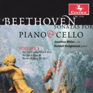 Cello Sonata.2, 3, 4: Miller(Vc)hodgkinson(P)