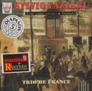 シルヴィオ・ラザリ: Piano Trio, Violinsonata: Trio De France