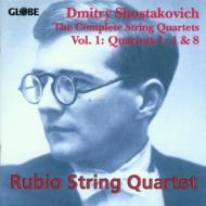 String Quartet.1, 4, 8: Rubio Q