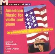 Violin Sonata.2, 4 / .: J.rubenstein(Vn)ouziel(P)+gershwin