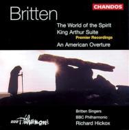 ブリテン:序曲「アメリカ」「アーサー王」 他 ヒコックス/BBCフィル