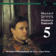 Piano Concerto.17, 18: Francesch, Weise / Nice.po