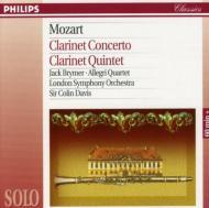 Clarinet Concerto, Clarinet Quintet: Brymer C.davis / Lso Allegri Q