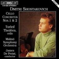 Cello Concerto.1, 2: Thedeen(Vn)depreist / Malmo.so
