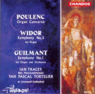 ギルマン:オルガンと管弦楽のための交響曲第1番他 イアン・トレーシー(org)/トルトゥリエ