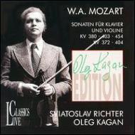 Violin Sonata, 31, 36, 38, 39, 40, : Kagan(Vn)Sviatoslav Richter(P)