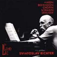Sviatoslav Richter: Haydn, Beethoven, Chopin, Scriabin, Debussy