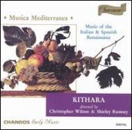 地中海地域の音楽(16&17世紀) キタラ