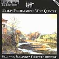 Berlin Philharmonic Wind Quintet Pilss, Zemlinsky, Etc