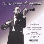 Violin Concerto.1, 7 Caprices, Etc: Francescatti(Vn)balsam(P)