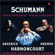 Piano Concerto, Violin Concerto: Argerich(P)Kremer(Vn)Harnoncourt / Coe