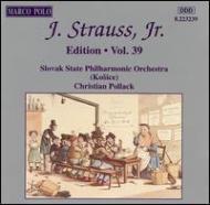 J.strauss Jr Edition Vol.39: Pollack / Slovak State Po