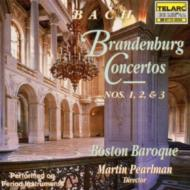 Brandenburg Concertos.1-3: Pearlman / Boston Baroque