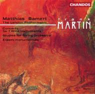 マルタン:7つの管楽器、打楽器と減額のための協奏曲他 バーメルト /ロンドン・フィル