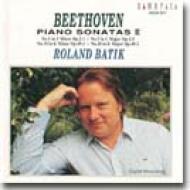 ベートーヴェン:ピアノ・ソナタ集 II/バティック