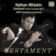 ヴァイオリン協奏曲、スペイン交響曲 ミルシテイン、ゴルシュマン、他