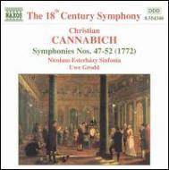 交響曲第47番〜第52番(全6曲) グロット/ニコラウス・エステルハージ・シンフォニア