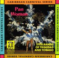 Pan Woman Steel Bands Of Trinidad And Tobago