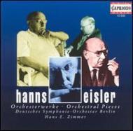 管弦楽のための小品集 ツィンマー(指揮)、ベルリン・ドイツ交響楽団