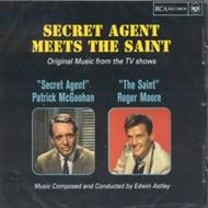 Secret Agent Meets The Saint -edwin Astley