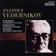 Wanderer-fantasie / Symphonic Etudes / Paganini Variations: Vedernikov