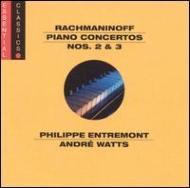 Piano Concerto.2: Entremont, Bernstein / Nyp, Piano Concerto.3: Watts, Ozawa /