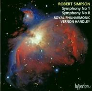 シンプソン:交響曲第1番、第8番 ハンドリー/ロイヤル・フィルハーモニック管弦楽団