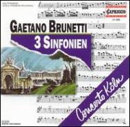 3つの交響曲(世界初録音) コンチェルト・ケルン