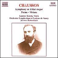 交響曲Op.20/詩曲Op.25/交響詩「ヴィヴィアン」 コルシア(v)/カルタンバック/ナンシー響