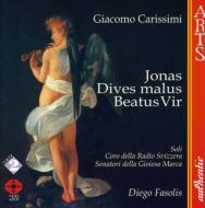 オラトリオ「ヨナの物語」「富める人の物語」「人は幸いである」 ファソリス&スイス・イタリア語放送合唱団、ほか