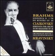 Sym.1 / Serenade For Strings: Mravinsky / Leningrad.po