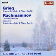 Cello Sonatas: Gill / Pavri