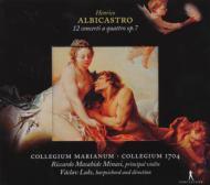 12 Concerti A 4 Op.7: Minasi / Collegium Marianum Collegium 1704
