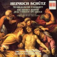 音楽による葬送、十字架上の七つの言葉 マウエルスベルガー&ドレスデン聖十字架合唱団