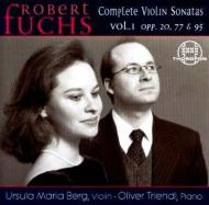 Complete Violin Sonatas Vol.1: U.m.berg(Vn)triendl(P)