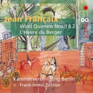 木管五重奏曲第1番、第2番、恋人たちのたそがれ ベルリン室内楽協会