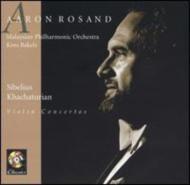 Violin Concerto: Rosand(Vn)bakels / Malaysian.po