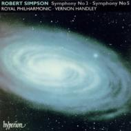 シンプソン:交響曲第3番、第5番 ハンドリー/ロイヤル・フィル