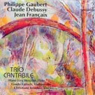 Piece Romantique: Trio Cantabile +debussy, Francaix
