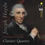 ハイドン(1732-1809)/Clarinet Quartets: Klocker(Cl) Consortium Classicum