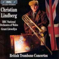 Trombone Concertos: Lindberg Llewellyn / Bbc National.o Of Wales
