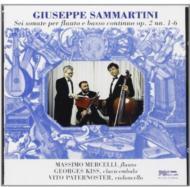Flute Sonatas Vol.1: Mercelli(Fl), Paternoster(Vc), G.kiss