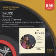 Requiem: Cluytens / Paris Conservatory O De Los Angeles F-dieskau