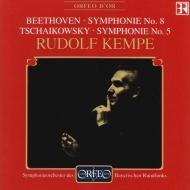 チャイコフスキー:交響曲第5番、ベートーヴェン:交響曲第8番 ケンペ&バイエルン放送響(1975年ステレオ・ライヴ)
