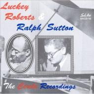 Luckey Roberts & Ralph Sutton