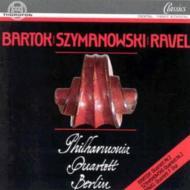 Szymanowski: String Quartetsフィルハ-モニア.sq, Berlin