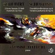 シューベルト:ピアノ・ソナタ第21番、シューマン、ダヴィッド同盟舞曲集、他 ルフェビュール