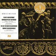 屋根の上の牛、世界の創造 ミヨー&シャンゼリゼ劇場管弦楽団