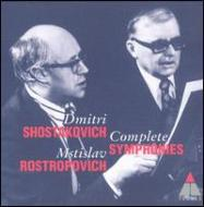 Comp.symphonies: Rostropovich / Lso, National.so Etc